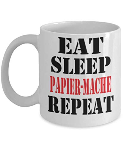 11oz Funny Papier-Mache Coffee Mug - Unique Cool Cute Humor Sarcasm Designer Gift Idea for Papier-Mache,al1260]()