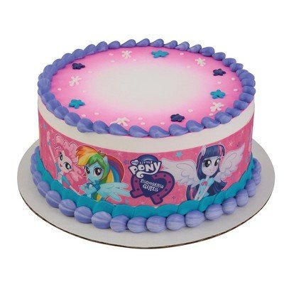 MLP Equestria Girls Strips Licensed Edible Cake Topper #58192 by DecoPac
