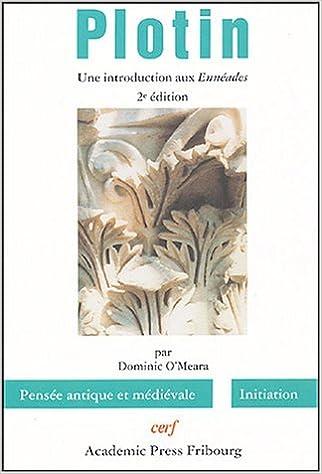 Livres gratuits en ligne Plotin : Une introduction aux Ennéades pdf, epub ebook