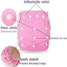 Storeofbaby 2pcs Baby Swim Diaper Short Trunks Reusable Adjustable Infant 0 3 Years (Pack of 2)