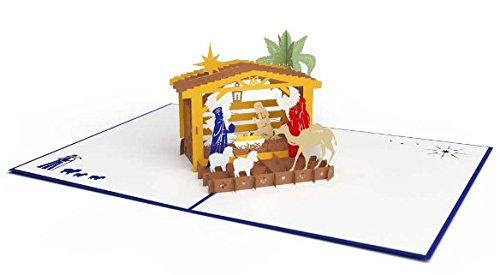 Nativity Pop Up Christmas Card