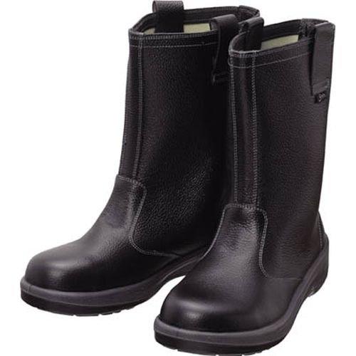 シモン 安全靴 半長靴 7544黒 25.0cm 7544N-25.0 B00HEHKLW4