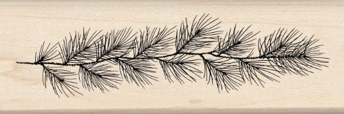 Inkadinkado Wood Stamp Evergreen Roping