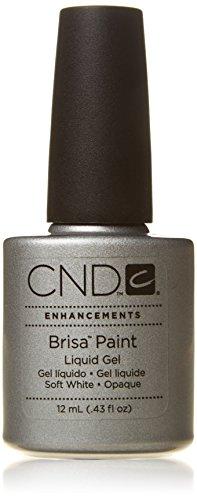 CND C Brisa Paint Liquid Gel - PURE WHITE OPAQUE .43oz/12ml