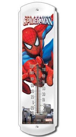 (5x17) Spider man Indoor/Outdoor Thermometer