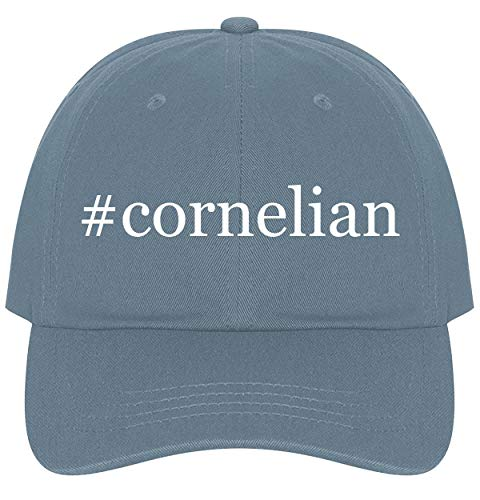 - The Town Butler #Cornelian - A Nice Comfortable Adjustable Hashtag Dad Hat Cap, Light Blue, One Size