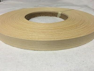 """White ash Pre Glued 7/8""""x20' Wood Veneer edgebanding"""