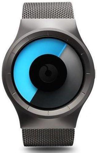 Ziiiro Celeste Japanese Miyota 1L-26 Quartz Movement 40mm Black Mono Watch