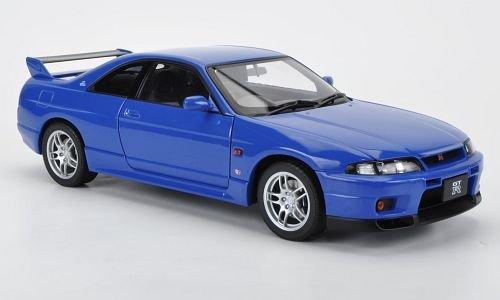 Nissan Skyline GT-R (R 33) V-Spec LM Limited, blau, 1997, Modellauto, Fertigmodell, AUTOart 1:18