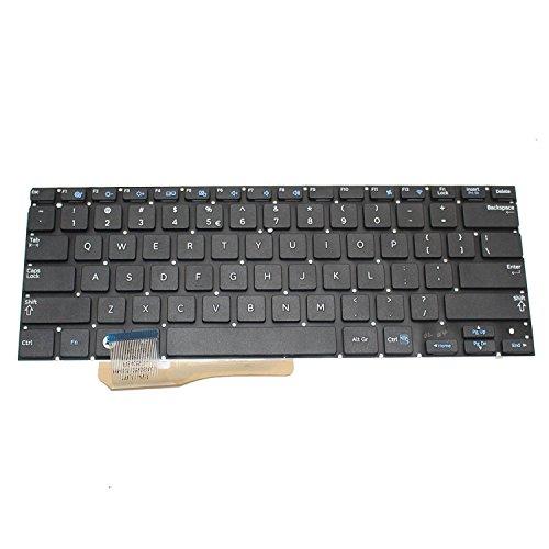 Generic New Black Laptop US Keyboard for Samsung NP530U3B 530U3B NP530U3C 535U3C 540U3C Series Replacement Part Number V133660BS1 BA59-03526A