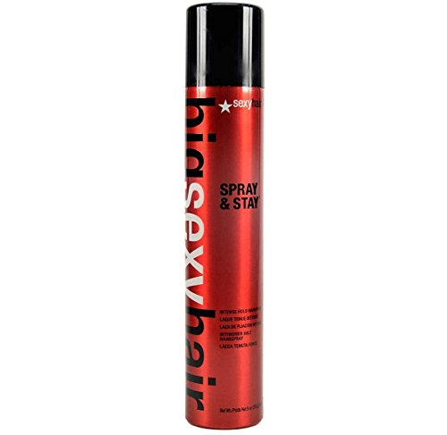 Big Sexy Hair Spray & Stay Intense Hold Hair Spray by Sexy Hair for Unisex Hair Spray, 9 Ounce