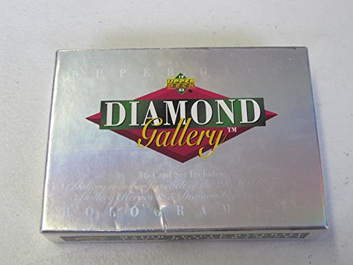1993 Upper Deck Diamond Gallery Baseball Complete Factory Set #1-36