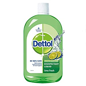 Dettol Liquid Disinfectant Cleaner for Home, Lime Fresh