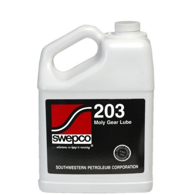 Swepco 203 Moly XP Gear Lube 250 Wt. (New XP Formula) - 1 Case, 6 Gallons by Swepco