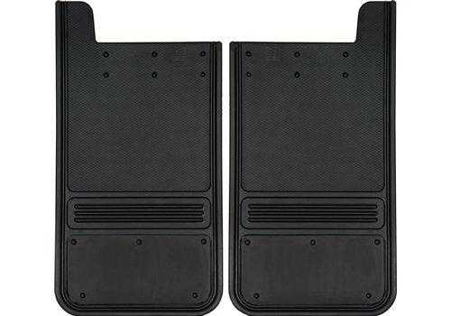 2-Pc Front Set Gatorback Mud Flaps Without Plating 12 X 23