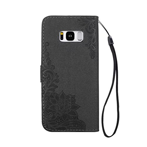 COWX Samsung Galaxy S8 Plus Hülle Kunstleder Tasche Flip im Bookstyle Klapphülle mit Weiche Silikon Handyhalter PU Lederhülle für Samsung Galaxy S8 Plus Tasche Brieftasche Schutzhülle für Samsung Gala uYTv8TZZSs