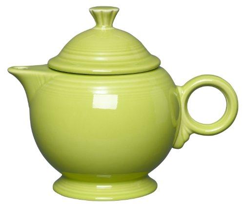 Fiesta Covered Teapot, 44-Ounce, Lemongrass