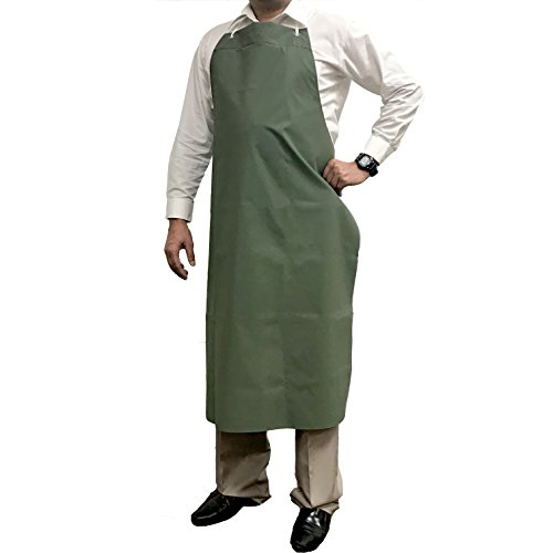 - KLEEN CHEF Everyday General Use Polyester Dishwashing Apron, Industrial Water and Oil Resistant Reusable PVC Leather