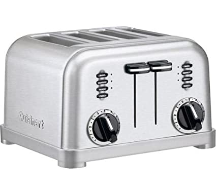 a51f01ba45b Image Unavailable. Image not available for. Color  Cuisinart CPT-180  Stainless Steel 4-slice Toaster