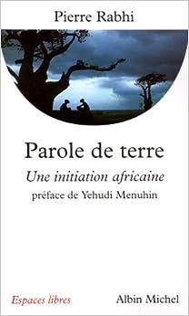 Book Parole de terre : Une initiation africaine