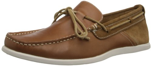 Eye Tie Shoe - GBX Men's Bardo Slip-on Boat Shoe,Tan,11 M US