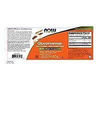 NOW Foods Glucomannan Pure Powder, 8 Ounce
