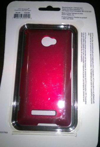 HTC Windows Phone 8X 2-Piece Shell - Red - 103436 (8 Htc Phone Windows)