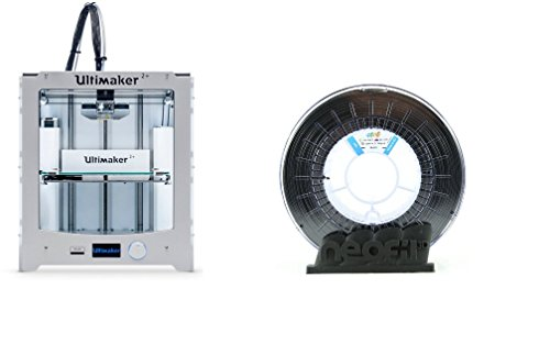 imprimante 3D Ultimaker 2+ et 5 Bobines de filament ABS Noirs 1,75 mm