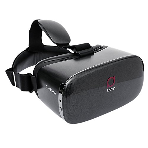 Andoer DeePoon E2 Virtual Reality Display Glasses VR Video Game Glasses 1080P AMOLED Display Screen Head-Mounted with HDMI Cable for Computer Notebook by Andoer