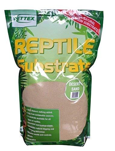 PETTEX reptil sustratos arena del desierto, 4 L 4L Pettex Limited 8075