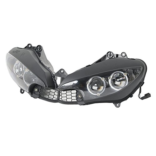 XFMT Motor Headlights Head Light Lamp Assembly For Yamaha YZF R6 2003-2005 YZF R6S 2006-2009 (Yamaha R6s Headlights compare prices)