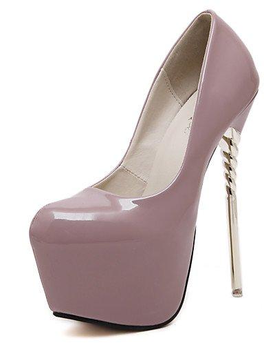 GGX/Damen Schuhe Frühling/Sommer/Herbst/Winter Heels/Peep Toe/Plattform/Fashion Stiefel/Gladiator/Basic Pumpe/ almond-us8.5 / eu39 / uk6.5 / cn40