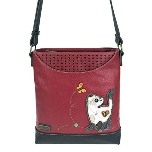Slim lovers gift Chala Bag Purse Messenger Cat Sweet Cat awSBFq