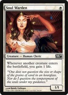 Magic: the Gathering - Soul Warden - Magic 2010
