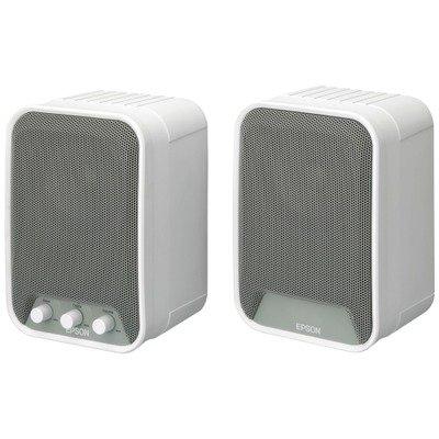 Epson ELPSP02 2.0 Speaker System - 30 W RMS - White