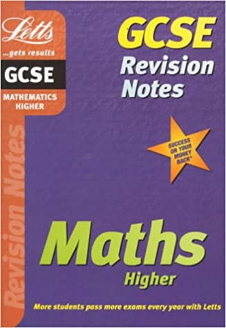 GCSE Revision Notes: Maths Higher: Higher Level (GCSE revision & exam preparation)