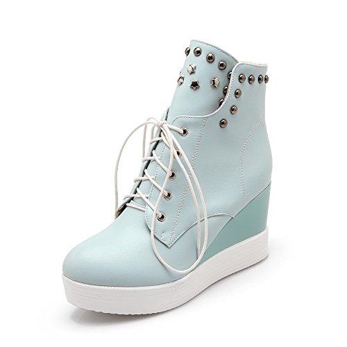 AllhqFashion Women's High-Heels Closed Parent Toe Low-top Boots B01C8B6N0O Parent Closed e4c17b
