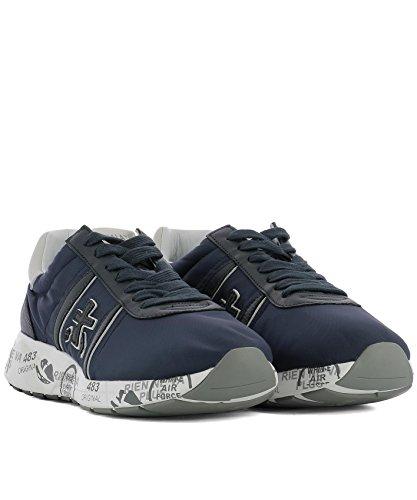 PREMIATA Men's MATTEW2831 Blue Leather Sneakers discount low price cheap sale pay with visa cheapest price cheap online BM0jZ6XsQq