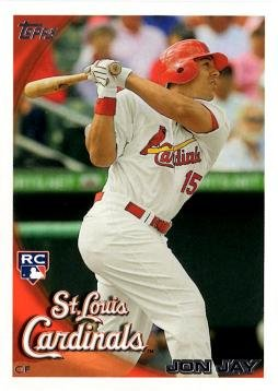 2010 Topps Update Baseball Jon Jay Rookie Card