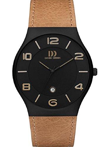 Danish Design Q27Q1106 Mens Tan Leather Strap Watch