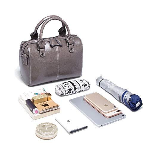 a borsa in Totes tracolla Borse Xuanbao Memoria tracolla da tracolla Colore moda delle femminile a Borsa Grigio Grigio Borsa per a tracolla donna donne borsa pelle a 8wq1vgZ
