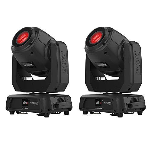 CHAUVET DJ Intimidator Spot 360 LED Moving-Head Light Fixture Black 2 Pack