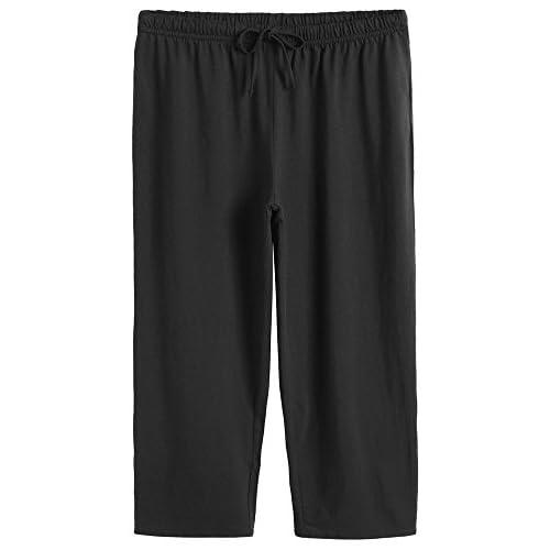 d76299e02 Latuza Women s Cotton Pajamas Set Tops   Capri Pants Sleepwear outlet