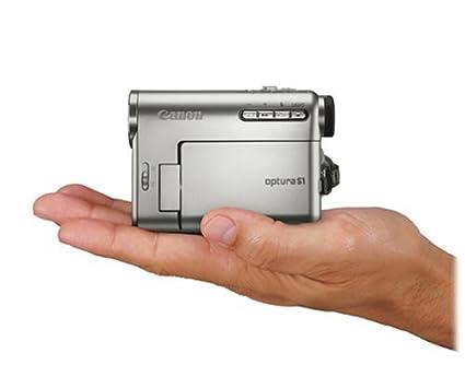 amazon com canon optura s1 2 2mp minidv camcorder w 10x optical rh amazon com A Canon Elura Canon Vixia