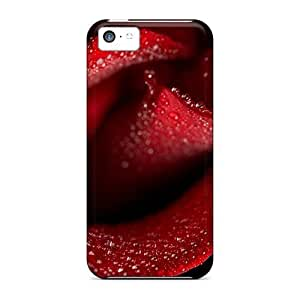 LJF phone case Perfect Rose Case Cover Skin For Iphone 5c Phone Case