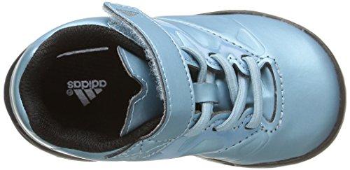 adidas Messi EL I - Zapatillas para niños Azul / Lima / Negro