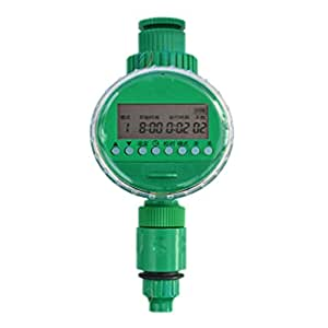 skedee LCD automático jardín riego riego temporizador controlador de la agricultura de riego manguera grifo agua temporizador