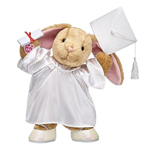Build A Bear Workshop Pawlette Plush Bunny Graduation Gift Set