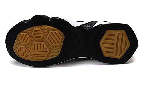 No.66 Town Couple Para Mujer Flyknit Tennis Running Zapatos Sneaker, Zapatos De Baloncesto Negro