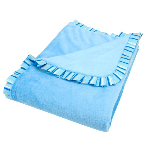 Trend Lab Trimmed Receiving Blanket